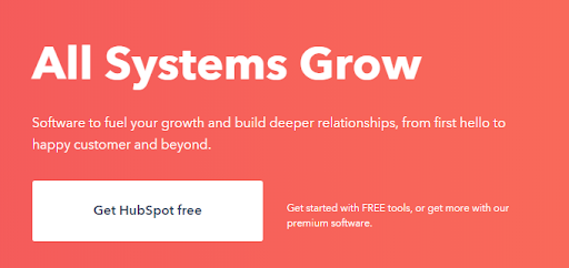 All systems Grow Hubspot
