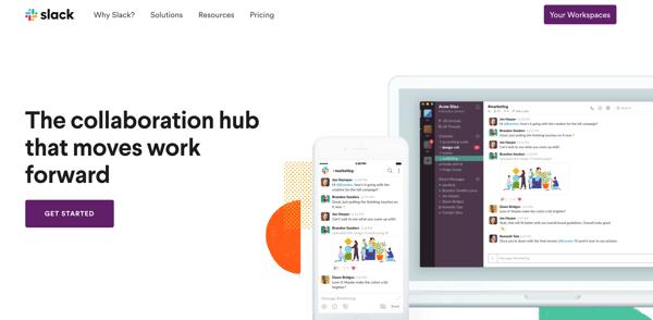 Slack collaboration hub